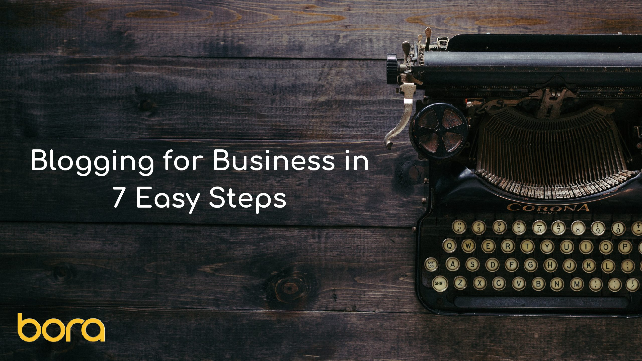 Infographic: Blogging for Business in 7 Easy Steps