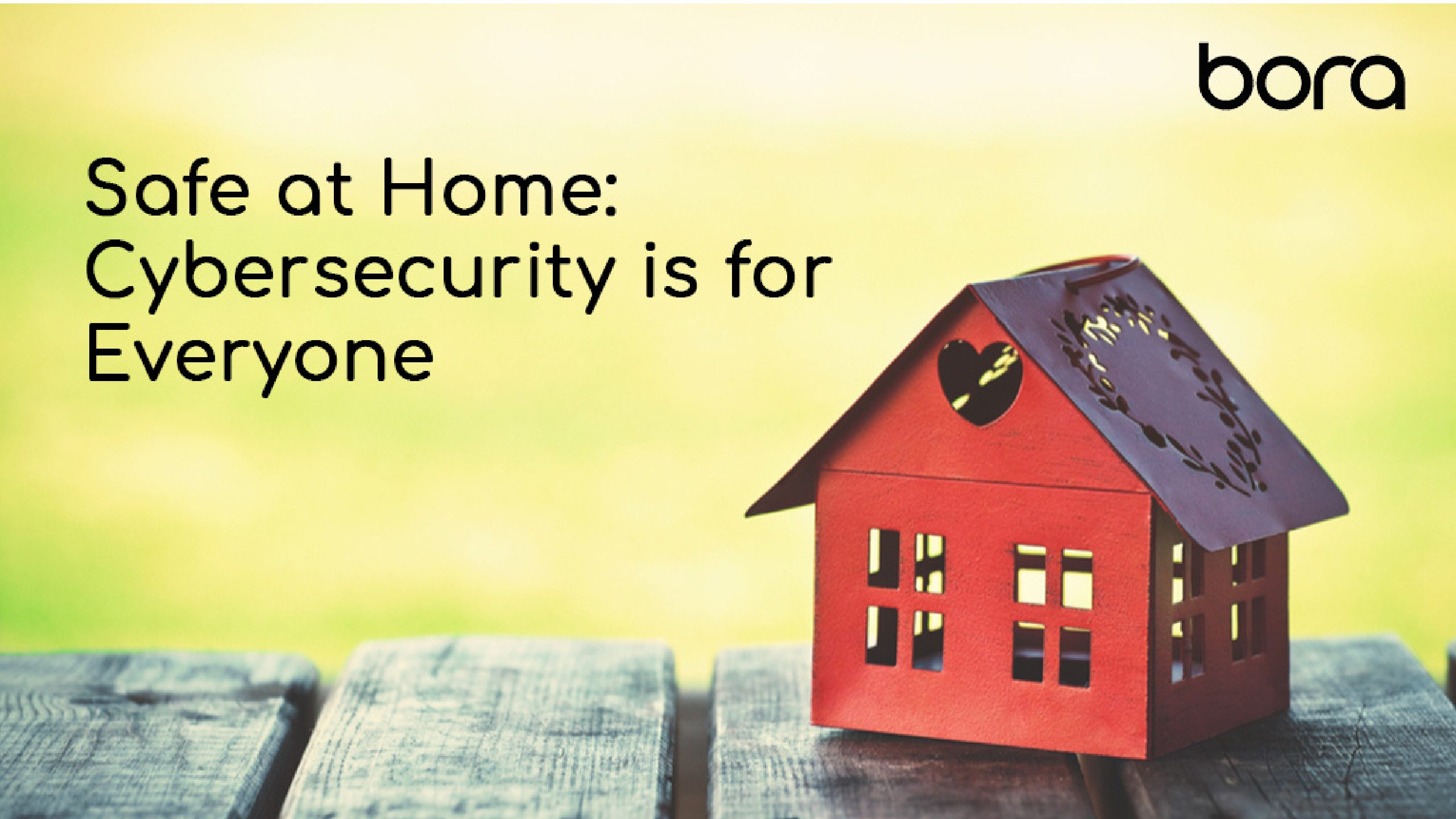Safe at Home: Cybersecurity is for Everyone